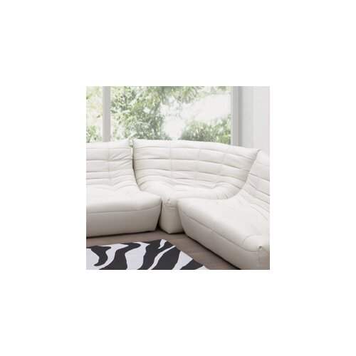 dCOR design Carnival Leatherette Modular Sofa