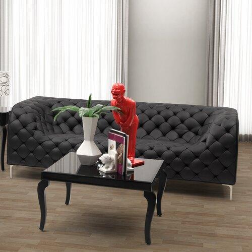 dCOR design Providence Leatherette Sofa
