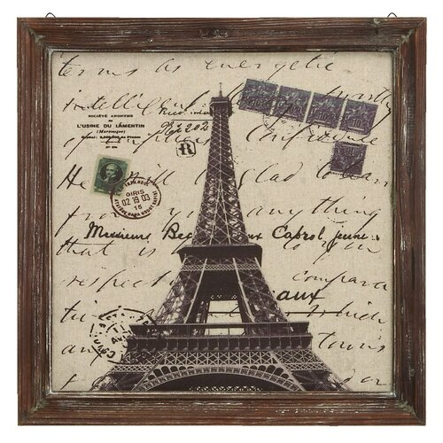Paris Eiffel Tower Framed Painting Print