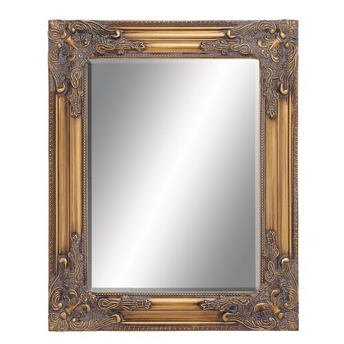 Woodland Imports Beveled Wall Mirror