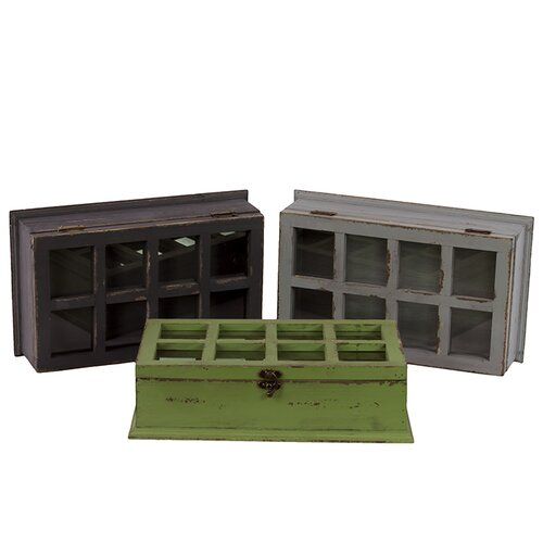 Ethnic and Classy Designed Cabinet (Set of 3)