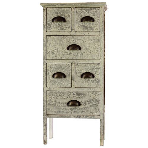 6 Drawer Fashionable and Well-Groomed Authentic Cabinet