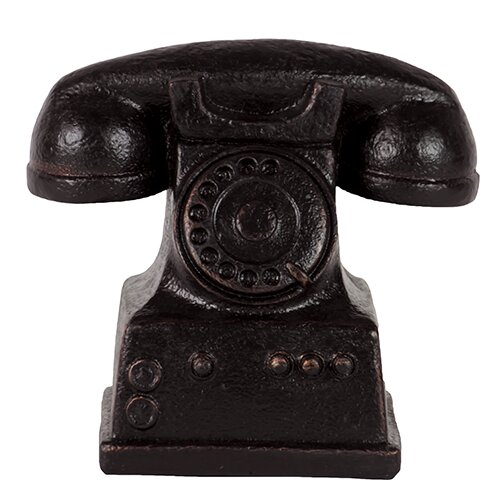 Fabulous Resin Telephone Figurine