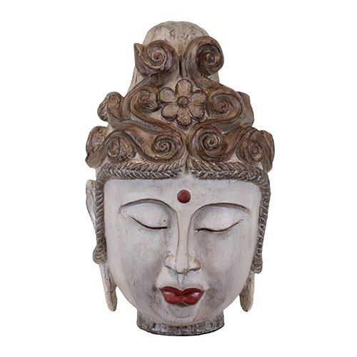 Alluring Buddha Head Statue