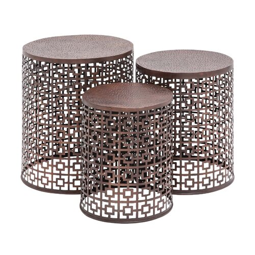 The Cute 3 Piece End Table Set