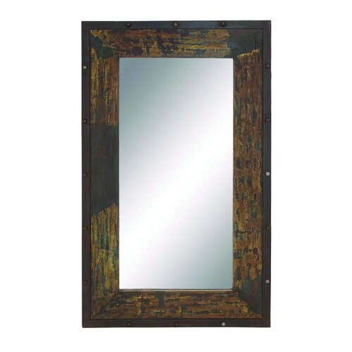 Arnia Antique and Stylish Wood Metal Mirror