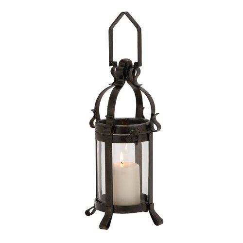 Woodland Imports The Extraordinary Metal Glass Lantern