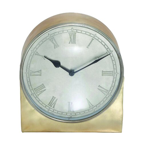 Remember Metal Retro Table Clock