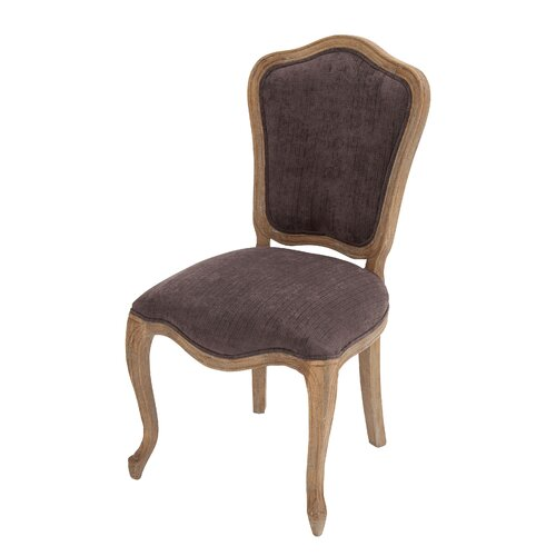 The Royal Wood Fabric Vintage Side Chair
