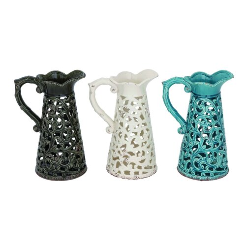 Amazing Collection of Ceramic Vase (Set of 3)