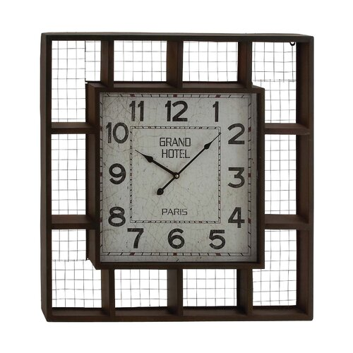 Elegant Creative Metal Wall Clock