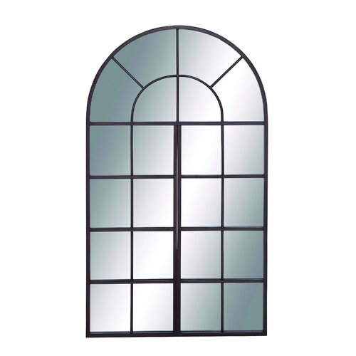 Jinchang French Window Themed Metal Wall Mirror