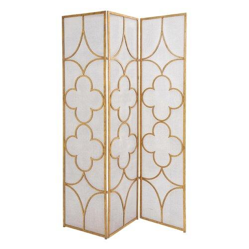 Useful Metal 3 Panel Room Divider