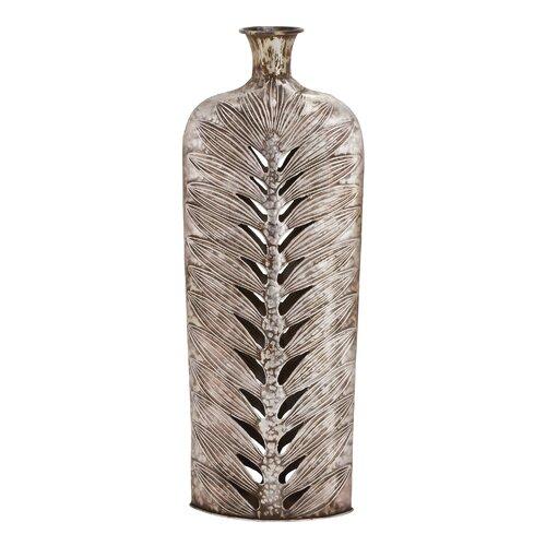 Customary Styled Fancy Metal Vase