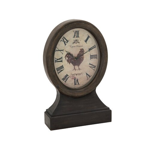 Attractive Wood Table Clock