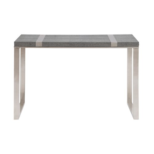 The Cool Stainless Steel / Vinyl Console Table