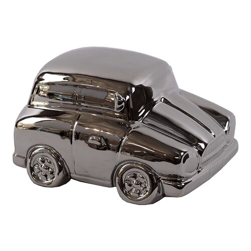 Stylish and Shiny Ceramic Car Sculpture