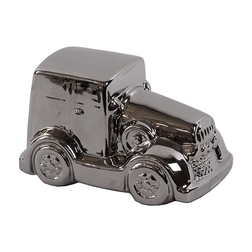 Traditional Rolls Royce Ceramic Car Sculpture