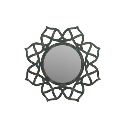 Beautiful and Tastefully Carved Floral Framed Wooden Mirror