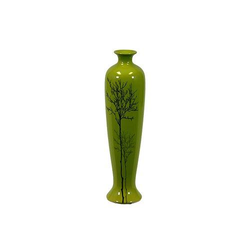 Traditional Chinese Bottle Shaped Ceramic Vase