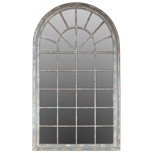 Traditional Arch Metal Mirror