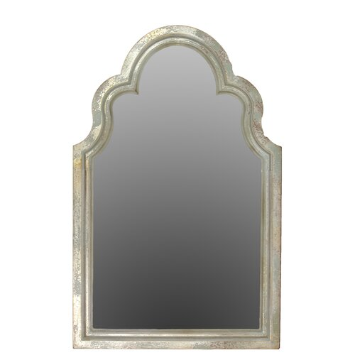 Exceptional and Beautiful Traditional Arc Shaped Wooden Mirror