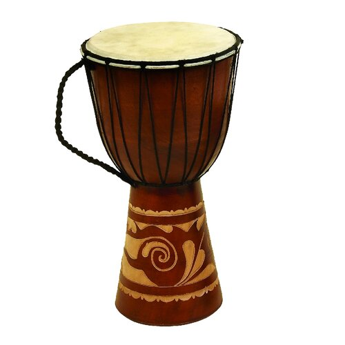 Decorative Leather Toca Djembe Drum