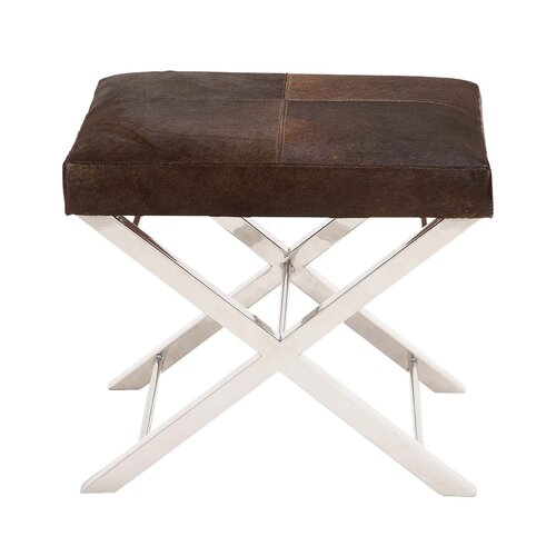 Stainless Steel Leather Stool