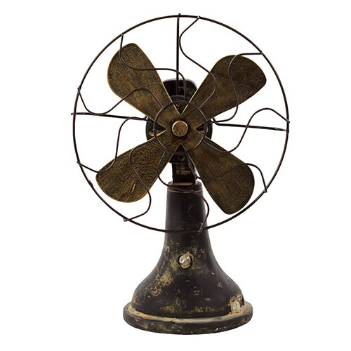 Traditional Resin Table Fan