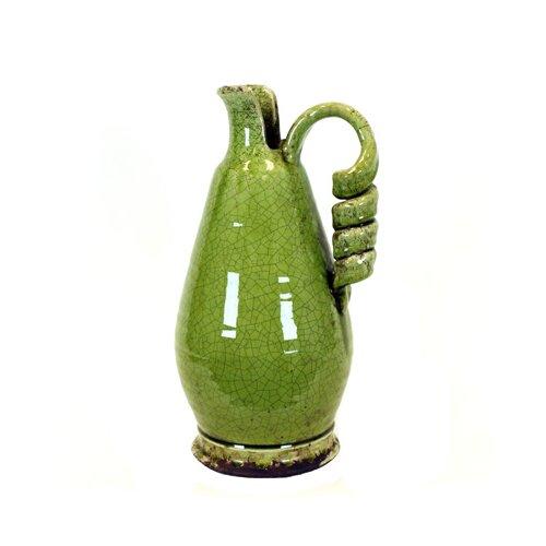 Antiquated Traditional Ceramic Tuscan Vase
