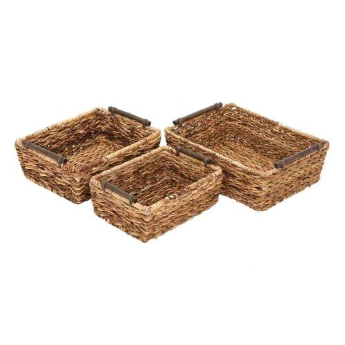 Woodland Imports Rattan Baskets