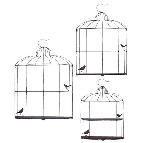 Woodland Imports Bird Cage Decor Shelf