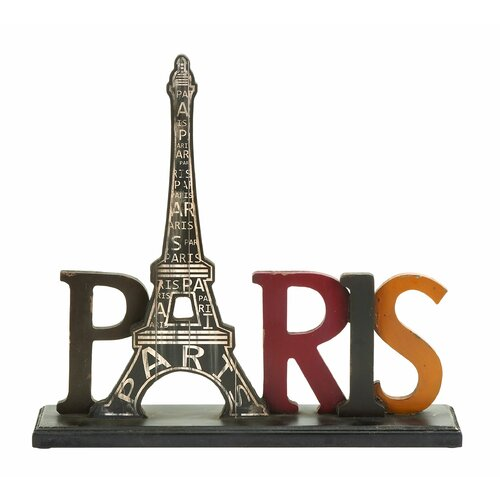 Woodland Imports Paris Table Décor Letter Block