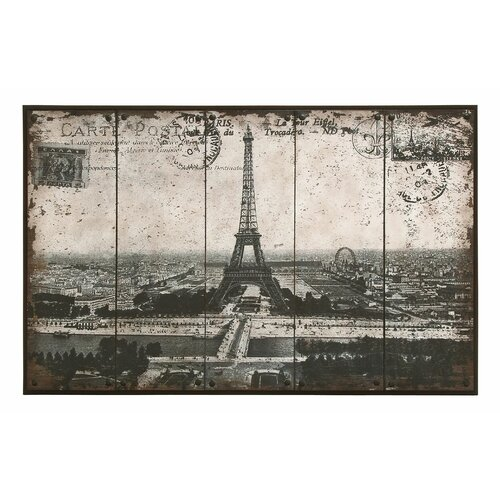 Paris Eiffel Tower Painting Print
