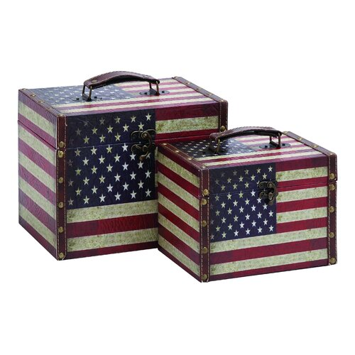 Woodland Imports American Storage Box