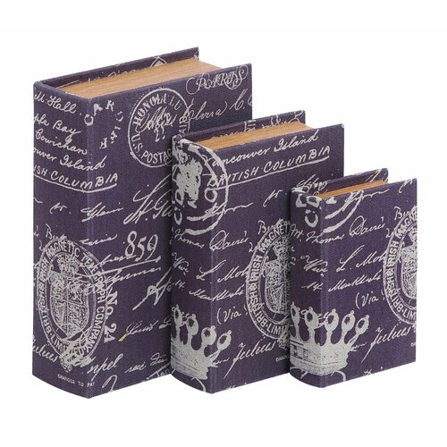 Woodland Imports Paris Lifestyle Theme Book Box
