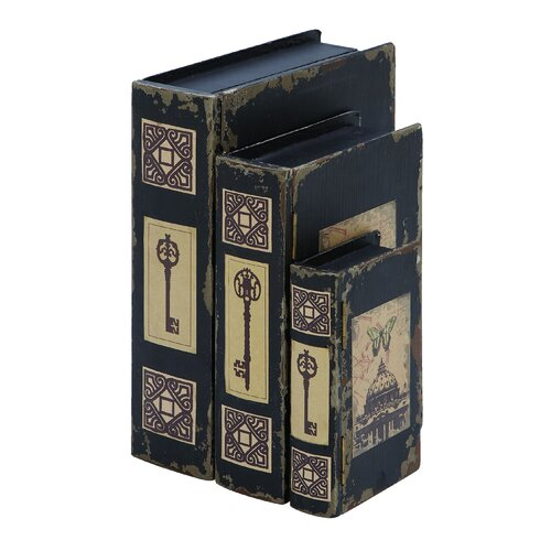 Woodland Imports French Capital Book Box