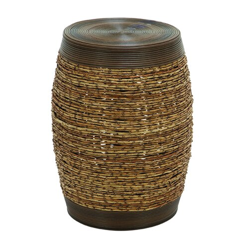 Woodland Imports Barrel Stool