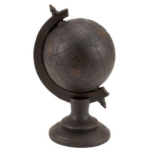 Woodland Imports Library Globe Decor Figurine