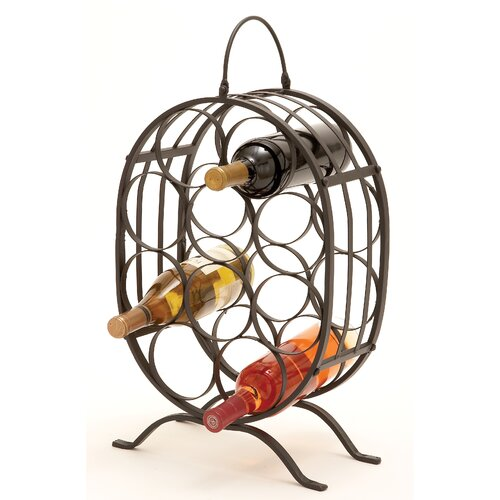 10 Bottle Tabletop Wine Rack