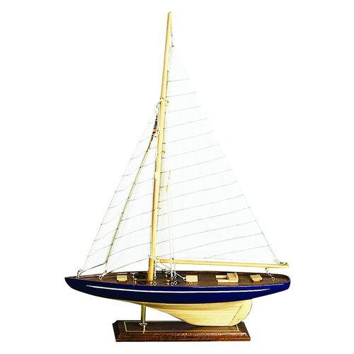 Woodland Imports Wooden Model Sailboat