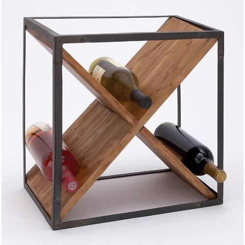 Woodland Imports Bottle Wine Rack