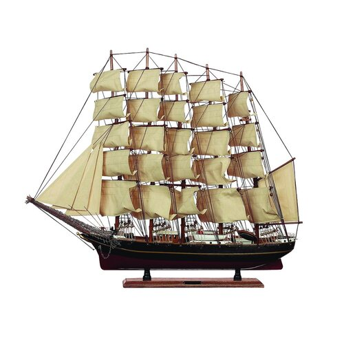 Woodland Imports Nautical Coastal Trade Replica Décor Model Ship