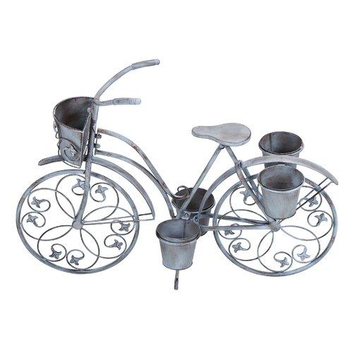 Woodland Imports Bicycle Planter