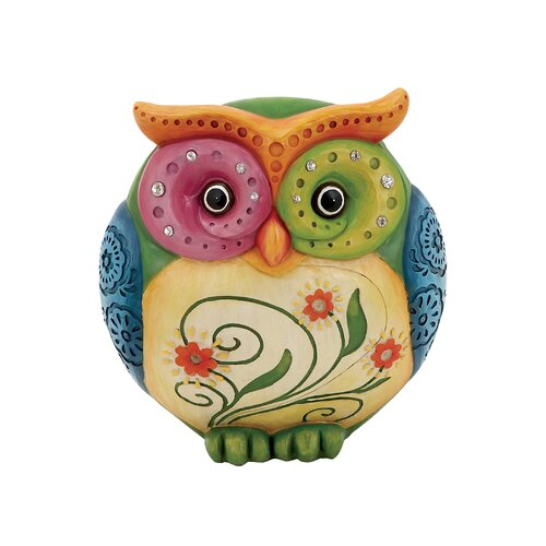 Woodland Imports Resin Owl Table Figurine