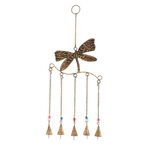 Woodland Imports Dragonfly Wind Chime