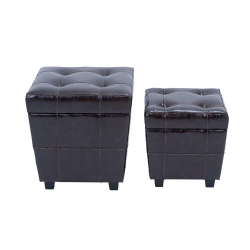 Storage Stool (Set of 2)