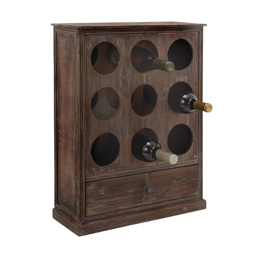 9 Bottle Wine Cabinet