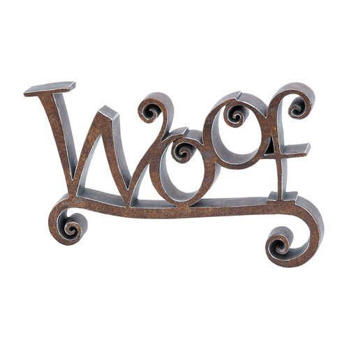 Woof Decor Sculpture