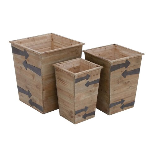 Square Planter (Set of 3)